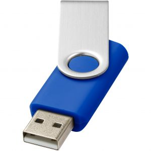Rotate Basic pendrive, kék, 286C, 16GB (raktári)