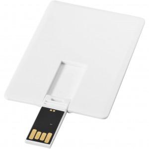 Kártya pendrive, fehér, 16GB (raktári)